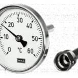 Термометры Wika А46.11 накладные на трубу биметаллические, Курган