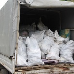 Вывоз мусора, Курган