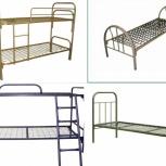 Кровать металлическая для рабочих, Курган