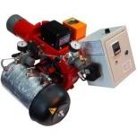 """AL-10V - горелка для котла на солярке, печном топливе, """"отработке"""", Курган"""