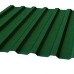 Профнастил МП-20 RAL 6005 зеленый мох 1100х0.40, Курган