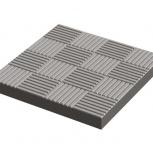 Тротуарная плитка «Паркет» Вибролитая 300х300х30 С, Курган