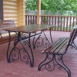 Кованная мебель и предметы интерьер из металла, Курган