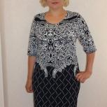 Платье трикотажное самми (абстракция), Курган