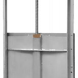 Затворы щитовые Orbinox серии MU, Курган