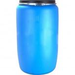 Бочка Тара пластиковая с крышкой на обруч 227 литр, Курган