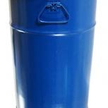 Бочка Тара стальная с крышкой на обруч 50 литров, Курган