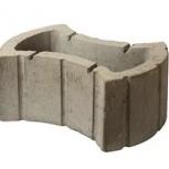 Вазон –цветочница из бетона Восьмерка, Курган
