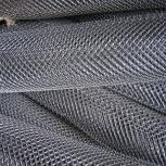 Сетка рабица d=1,6 мм, ячейка 50x50 мм, 2000x1000, Курган