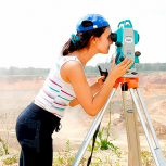 Видео-курс по геодезии. Работа с тахеометром, Курган