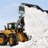 Вывоз снега на легальный полигон в Кургане, Курган