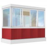 Балкон Provedal Алюминиевый 3200 П-образное, Курган