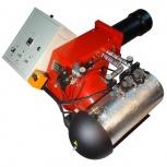 """Горелка на """"отработке"""" AL-50V (200-550 кВт) для котла, парогенератора, Курган"""