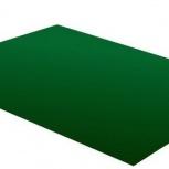 Плоский лист полиэстер 1250х0,45 RAL 6029 зеленый, Курган
