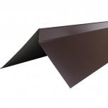 Планка торцевая полиэстер Технониколь RAL 8017 кор, Курган