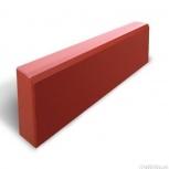 Бордюр «Садовый» Вибролитой 500х210х70 Красный, Курган