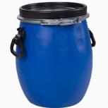 Бочка Тара пластиковая с крышкой на обруч 20 литро, Курган