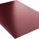 Плоский лист полиэстер 1250х0,45 RAL 3009 красно-к, Курган