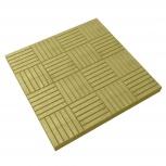 Тротуарная плитка Паркет 300х300х30 Желтая, Курган