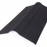 Коньковый элемент Ондулин сланец черный 1м/0,85 м, Курган