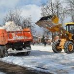 Вывоз снега, Курган