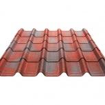 Черепица Ондувилла красный 3D 1060х400х3, Курган