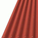 Ондулин Лист Смарт 950х1950 красный, Курган