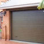 Автоматические секционные гаражные ворота, вертикального подъёма, Курган