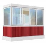 Балкон Provedal Алюминиевый 3200 Г-образное, Курган