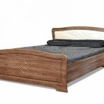 Кровать венеция с мягким изголовьем, Курган