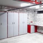 Мебель для гаража в комплекте (верстак, шкафы), Курган