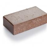 Брусчатка клинкерная «Шоколад флеш» «Тоффи» 100х20, Курган