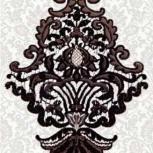 Плитка Декор Керамин  400х275 Черный, Курган