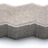 Тротуарная плитка «Волна» Вибропрессованная 119х23, Курган