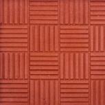 Тротуарная плитка «Паркет» Вибролитая 300х300х30 К, Курган