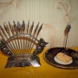 серебряные шпажки для канопэ, Курган