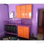 Металлическая мебель (верстак, стеллаж, антресоль), Курган
