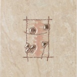 Плитка Декор Шахтинская плитка (Unitile)  200х300, Курган