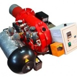 """Горелка AL-25V на """"отработке"""" для котла или парогенератора, Курган"""