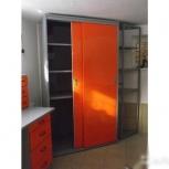 Шкаф-купе металлический для гаража, Курган